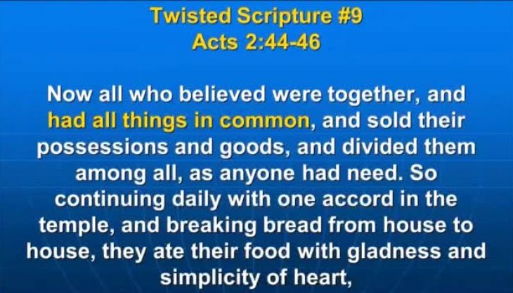 Photo of Acts 2:44-46, Now all who believed were together, and had all things in common