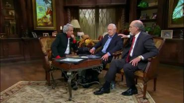 Photo of Video Clip: Clip #3 of Benny Hinn with Liberty University Representative on His TV Program