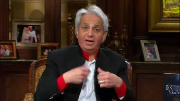 Photo of Video Clip: Clip #2 of Benny Hinn with Liberty University Representative on His TV Program