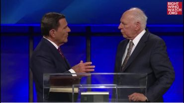 Photo of Video Clip: Rafael Cruz, Father & Political Surrogate of 2016 Presidential Candidate Ted Cruz, Speaks at Church of False Teacher Kenneth Copeland