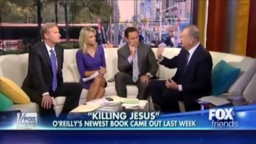 "Photo of Bill O'Reilly Tells Fox News Hosts Jesus Did not Say ""Father Forgive Them"" on the Cross"