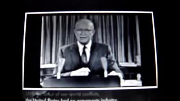 Photo of President Eisenhower Warns About the Military Industrial Complex