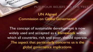 Photo of Exposing the Sustainable Development Agenda of Global Governance