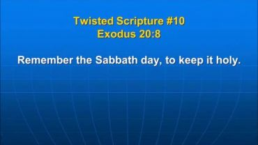 Photo of Exodus 20:8, Remember the Sabbath day, to keep it holy