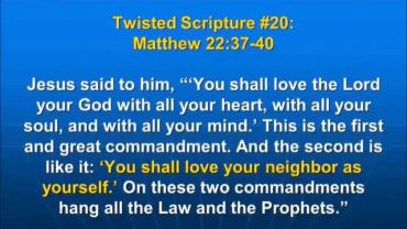 Photo of Matthew 22:37-40, You shall love your neighbor as yourself