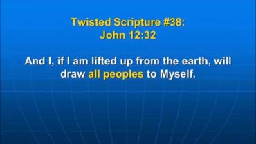 Photo of John 12:38, And I, if I am lifted up from the earth, will draw all peoples to Myself