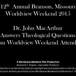 Photo of Q & A With Dr. John MacArthur (Video Clip)