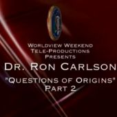 Photo of Question of Origins Part Two